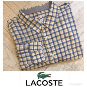 Lacoste Dress Shirt in EUC!